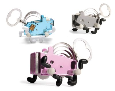 美國設計品牌Kikkerland 發條金屬小狗玩具 Pea wind up 裝飾擺件|節日送禮|設計雜貨