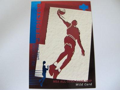 1994-95 Upper Deck WILD CARD NBA All Star Game MVP Predictor