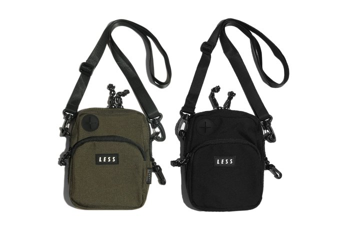 { POISON } LESS WALKMAN SHOULDER BAG CORDURA機能腰掛隨身小包 側背包