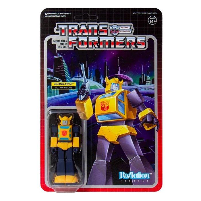 [Paradise]ReAction Transformers Bumblebee 變形金剛 3.75吋復古人偶 大黃蜂