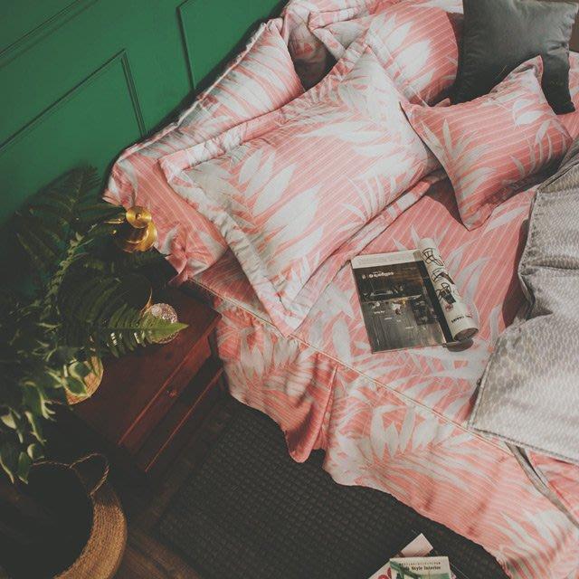 MIT 40支天絲-床罩組/雙人5尺【夕暮森林】(5件式)  絲薇諾