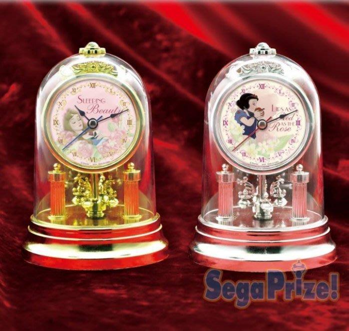 41+ 現貨不必等 正版授權   公主玻璃造型鐘 景品 1022522  my4165