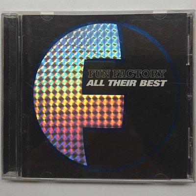Fun Factory 遊戲工廠 All Their Best 暢銷曲精選 Don't Go Away 1996年 上華發行