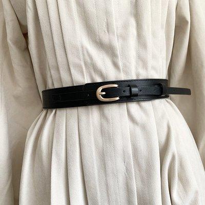 細腰封 針釦細腰帶 大衣外套收腰專用腰帶 【UD013】