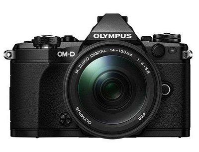 Olympus E-M5 Mark II Kit 黑色〔含 14-150mm II 〕平行輸入 (3)