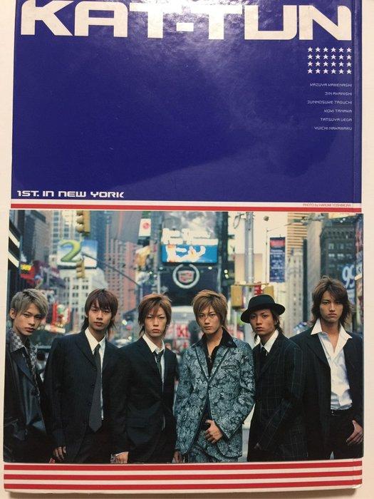 二本 日版 KAT-TUN 寫真集 1st in NEW YORK + LIVE DOCUMENT PHOTO BOOK 傑尼斯 赤西仁 龜梨和也(特價1080