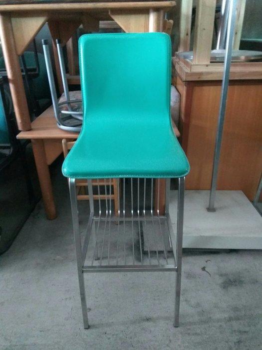 大高雄二手貨中心(全臺買賣)---【白鐵】高腳椅    餐椅  吧台椅    用餐椅    數量有限    售完為止