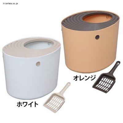 &米寶寵舖$ IRIS  PUNT-530 桶式貓便箱 大 貓砂盆 貓便盆