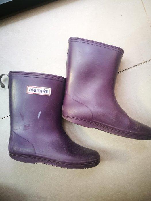 二手 stample兒童雨鞋 17公分