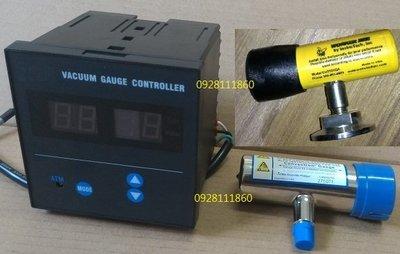 Vacuum Gauge Controller數位式真空計-3 Torr負壓壓力計PC-615數位真空控制器PROTEC