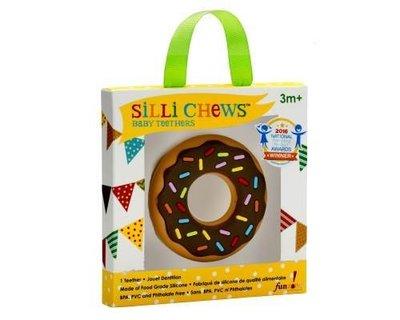 【魔法世界】美國 Silli Chews 巧克力甜甜圈咬牙器/固齒器 SC-9