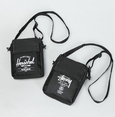 現貨日本雜誌附錄帆布包腰包簡約字母斜挎單肩包男女掛包胸包 mini包 包包 lv LV零錢包 手機包聖誕節