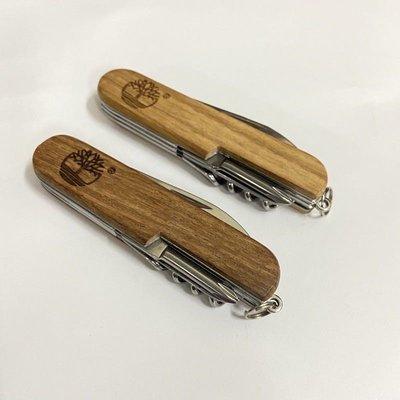 Timberland多功能瑞士刀  木紋瑞士刀 木質多功用瑞士刀 #49