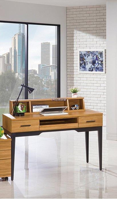 【DH】商品貨號VC617-4商品名稱《優質》4尺電腦/書桌(圖一)不含活動櫃。台灣製。簡約雅緻經典傢飾。主要地區免運費