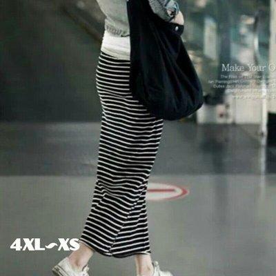 粉粉大尺碼~GH16加大碼夏新款修身顯瘦半身長裙/鉛筆裙4XL~XS