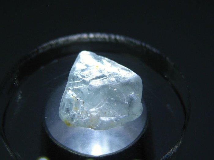 拓帕石 Topaz 天然無燒無處理 自然藍 原礦 標本 礦石 32【Texture & Nobleness 低調與奢華】