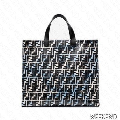 【WEEKEND】 FENDI Glazed FF Shopper 塗鴉 托特包 雲彩色 20秋冬