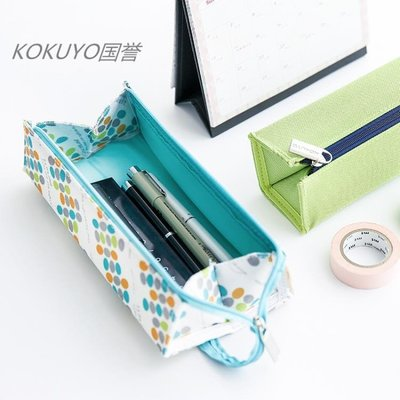 方形筆袋 大容量手提學生筆袋便攜式收納筆袋