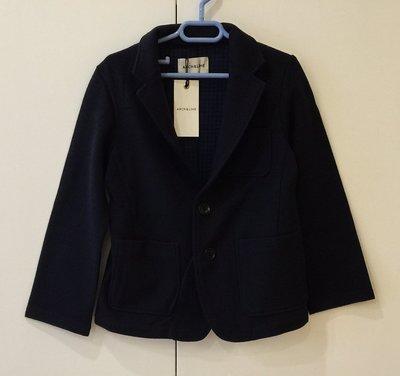 日本設計師童裝品牌 Arch & Line 男童羊毛西裝外套(海軍藍色)  clearance sale