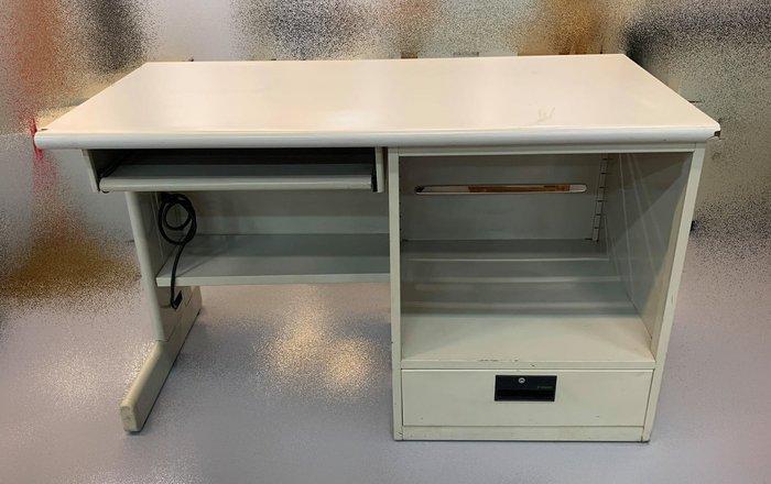 【宏品二手家具賣場】C42982*白面一抽電腦桌*主管桌 電腦桌 會議桌 寫字桌 中古oa辦公家具拍賣二手辦公家具特賣