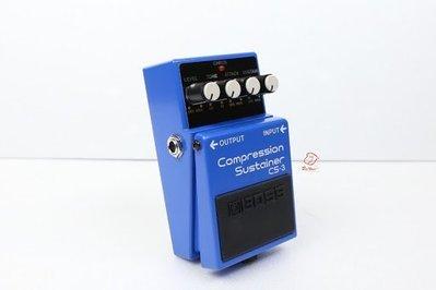 大鼻子樂器 Boss CS-3 Compression Sustainer 電吉他 壓縮 延音 效果器