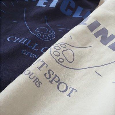 小野千尋 【T12201】1A21韓。Chill out spot寬鬆T恤2色F.預購。