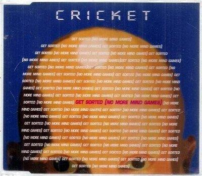 *EP.出清,$30起標 ~ CRICKET // GET SORTED ~ UNIVERSAL、2000年發行