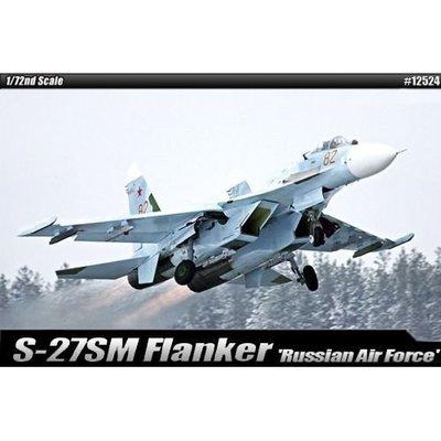 創億RC FA12524 1/72  戰鬥機 Russian Air Force Su-27 SM Flanker B