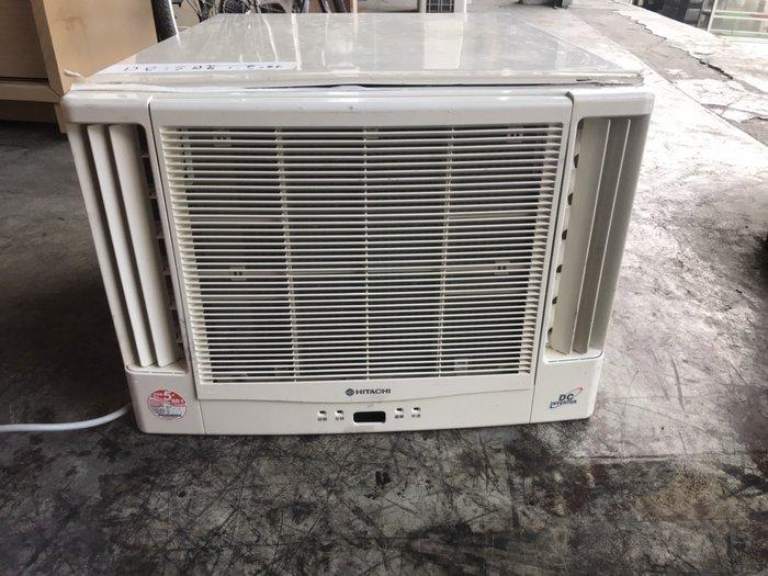 二手家具全省估價(大台北冠均 五股店)二手貨中心--HITACHI日立窗型DC變頻冷暖冷氣 窗型冷氣 A-011604
