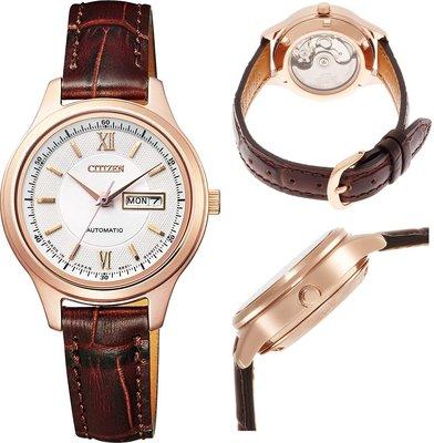 日本正版 CITIZEN 星辰 PD7152-08A 機械錶 手錶 女錶 日本代購
