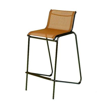 【紅豆戶外休閒傢俱】鐵製高腳紗網椅(2張/組)/工業風餐椅/咖啡吧台椅/吧檯椅戶外休閒桌椅/戶外休閒傘