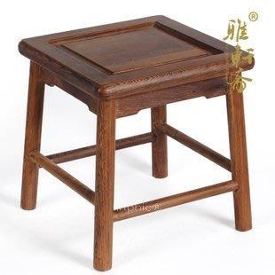 INPHIC-雞翅木換鞋凳 家居紅木凳子 小矮凳 榫卯結構 新款