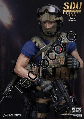 DAMTOYS 1比6 12寸 Figure SDU member 飛虎 assault team leader 吳彥祖