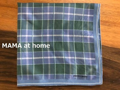 特價商品・M-63/USED<日本pierre cardin 格柄方巾/手帕>