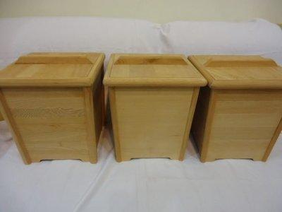 安安台灣檜木--台灣檜木米桶-方型g