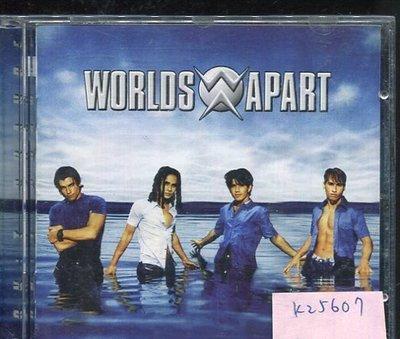 *真音樂* WORLDS APART / DON'T CHANGE 二手 K25607
