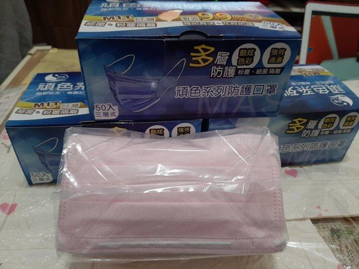 👍👍防霾100%👉 👉台灣製防疫口罩 50入 品質有保證🌈🌈最後一波特價團👍讓您一路發