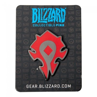 【丹】暴雪商城_Blizzard Collectible Pins - Horde 部落 別針