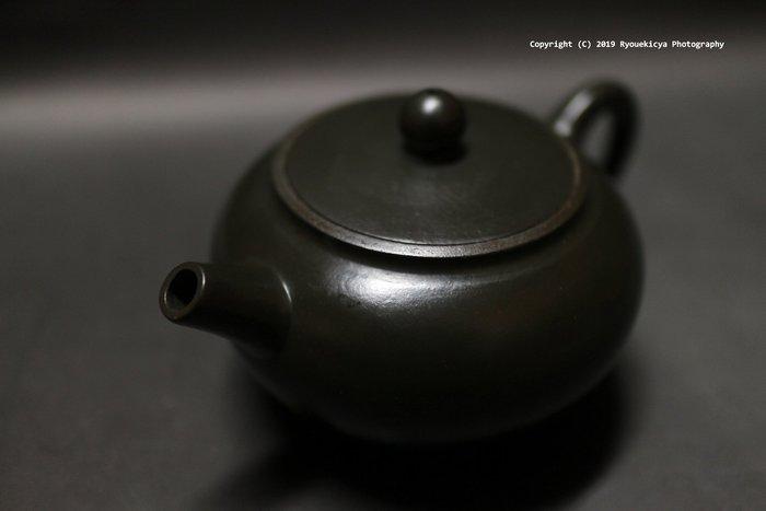 陳國良 砲管壺 綠泥 出水順 止水強 密合高 紫砂壺 250ml
