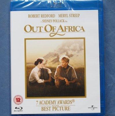 遠離非洲 Out of Africa全新歐洲進口藍光BD 中文字幕 勞勃瑞福、梅莉史翠普