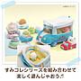 【甜甜日貨】日本正版→SAN-X角落生物 角落動物 車子造型小包配件 可裝掌心娃娃 背景配件 背景擺件組合 擺飾 不附娃娃