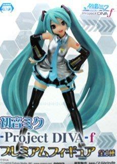 日本正版 景品 SEGA 初音未來 MIKU Project DIVA f PM 模型 公仔 日本代購