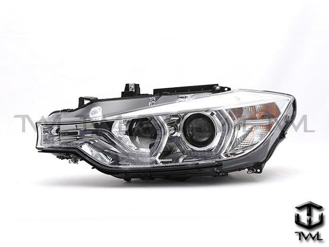 《※台灣之光※》全新 BMW F30  14 15 16 12 13年 美規鹵素328升級晶鑽LED單光版光圈魚眼大燈組