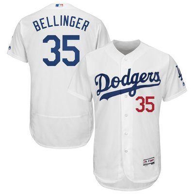 Cody Bellinger Majestic White Authentic Player Jersey