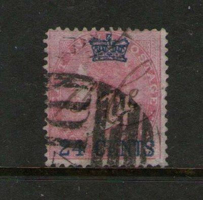 【雲品】馬來亞Malaya S. Setts. 1867 QV SG 8 or Sc 8 FU 庫號#BF504 66310