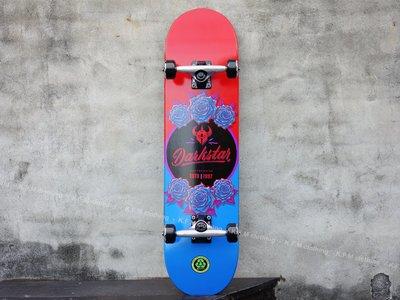 【 K.F.M 】Darkstar In Bloom 8.0 整組 技術板 滑板 美國進口滑板