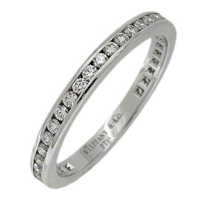[超優惠 國際圍#10.5]Tiffany Diamond Wedding Band鑽石 全環 線戒 婚戒