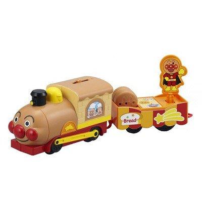 日本 麵包超人玩具火車