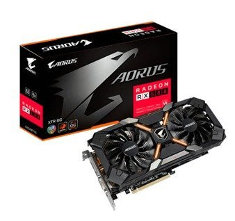 技嘉 AORUS Radeon RX580 AORUS-8GD 鷹神版 顯示卡 $12990