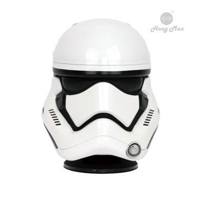 新竹家庭劇院專賣店《名展影音》星際大戰系列 ☆╮帝國風暴兵頭盔1:1藍牙喇叭╭☆ 精緻白兵外型